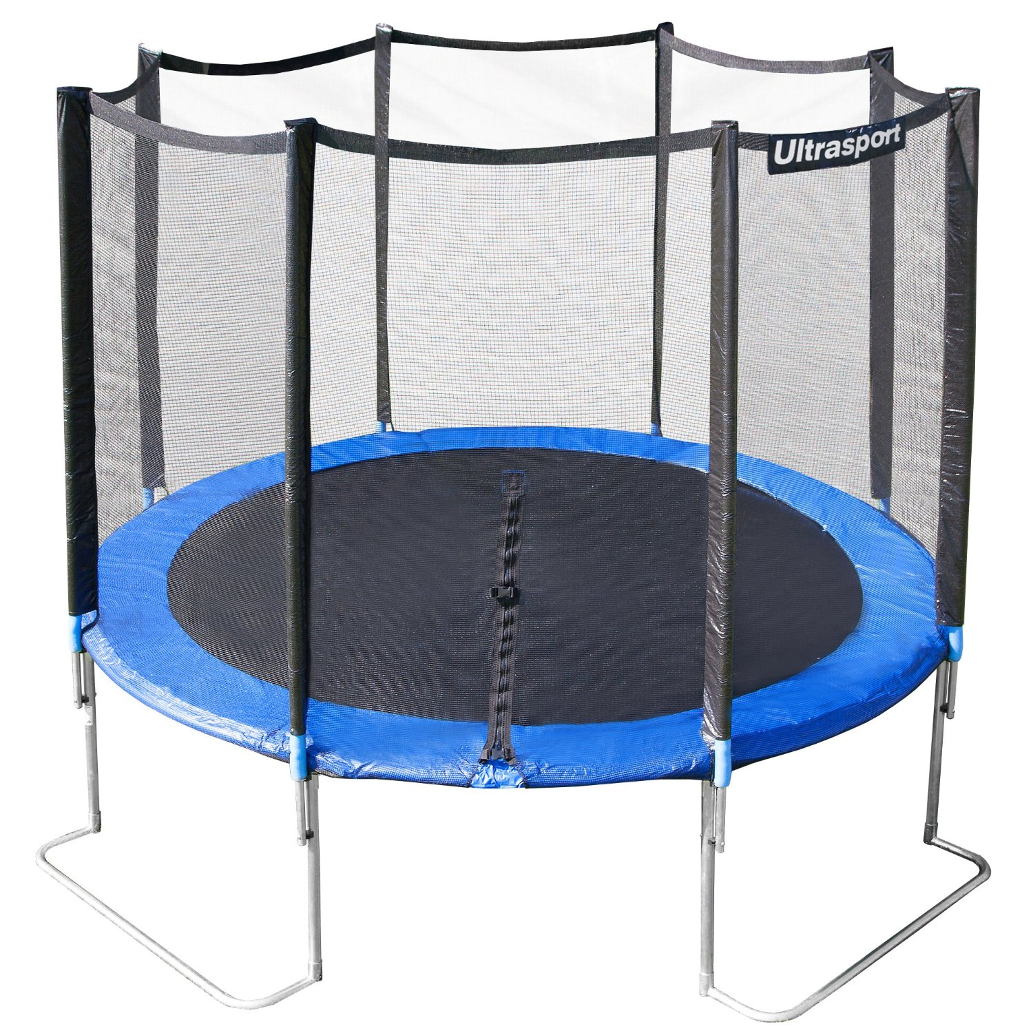 trampoline de jardin 305 cm ultrafit jumper filet de s curit 4 pieds actualit s. Black Bedroom Furniture Sets. Home Design Ideas