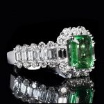 diamant emeraude precieuses