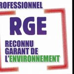 logo rge reconnu garant environnement
