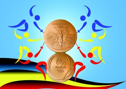 medaille olympique or